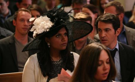 Mindy Attends Church