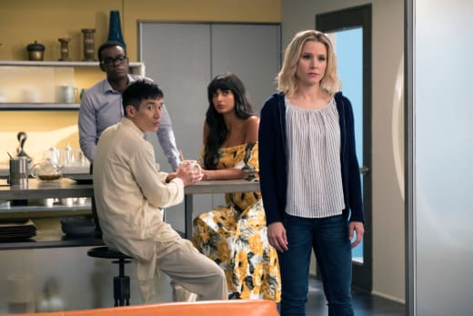 Considering Their Options - The Good Place Season 2 Episode 3