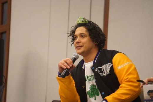 Bob Morley at Conageddon - The 100