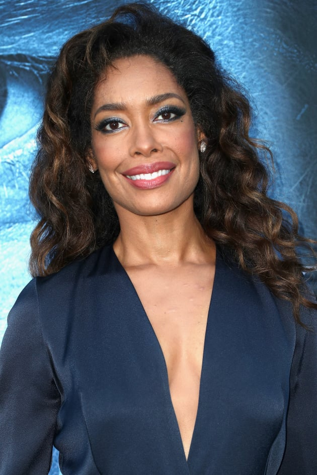 Gina Torres Attends Premiere