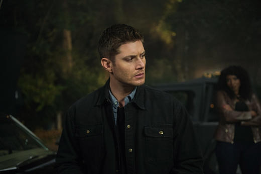 Dean being watched - Supernatural Season 12 Episode 6