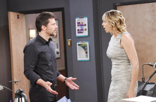 Nicole Argues with Eric - Days of Our Lives