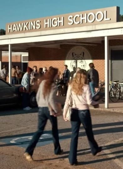 Hawkins High School -- Stranger Things