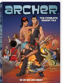 Archer season 2 DVD