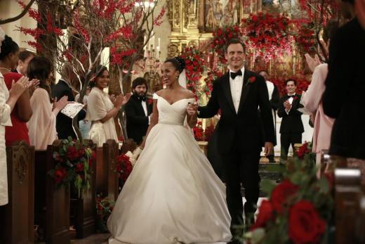 Olivia and Fitz Get Married...Sort Of - Scandal Season 6 Episode 10