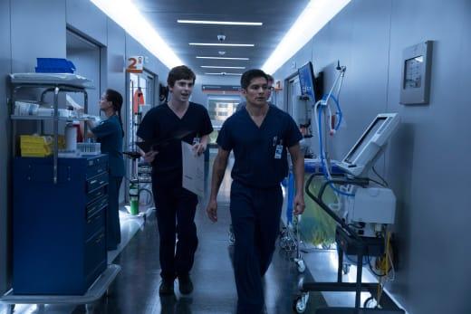 Shaun and Melendez - The Good Doctor Season 1 Episode 5