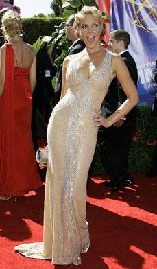 Katherine Heigl at the Emmy Awards