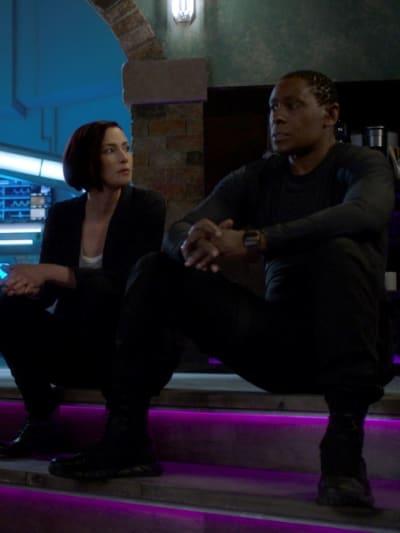 Alex and J'onn - Supergirl Season 6 Episode 3