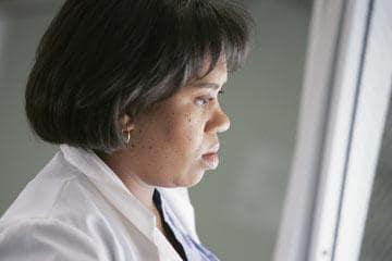 Dr. Bailey Looks On