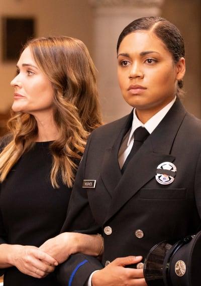 Vic and Jen Say Goodbye - Tall - Station 19 Season 2 Episode 16