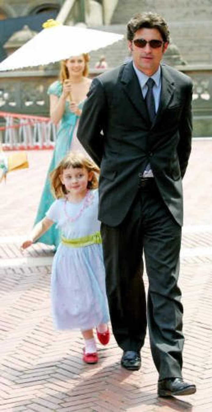 Patrick Dempsey Daughter On The Set Tv Fanatic