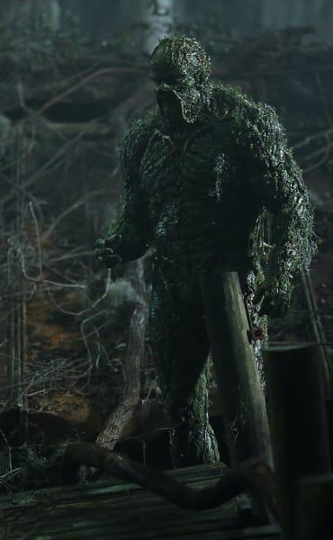 Swamp Monster - Tall - Swamp Thing Season 1 Episode 2