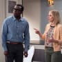 Chidi and Eleanor - The Good Place Season 2 Episode 9