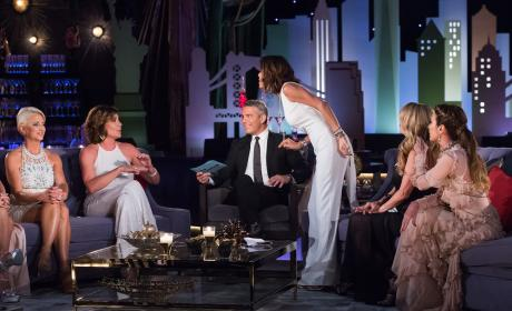 Things Get Heated - The Real Housewives of New York City