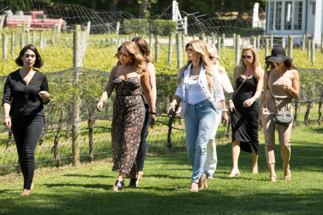 A Trip To The Vineyard - The Real Housewives of New Jersey