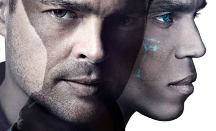 Almost Human Poster: An Arresting Image