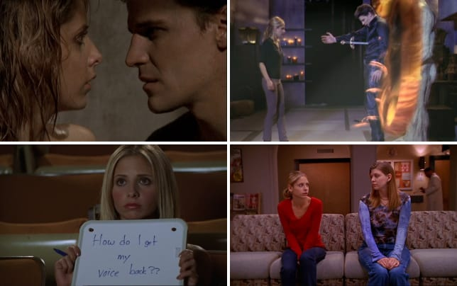 Buffy the vampire slayer season 2 episodes 13 and 14 surprise an
