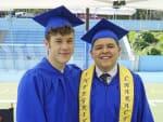 Luke and Manny Graduate