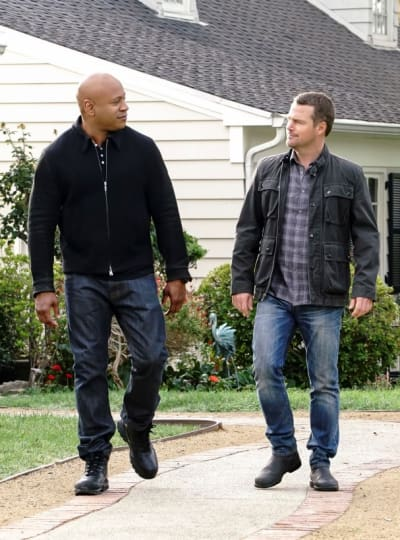 Tracking a Suspect - NCIS: Los Angeles Season 9 Episode 12