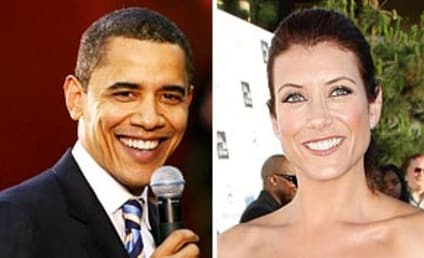 Kate Walsh Cheers Barack Obama Victory