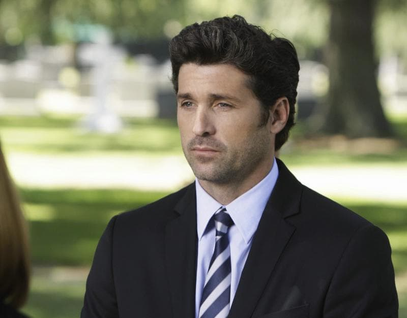 McDreamy at the Funeral - TV Fanatic