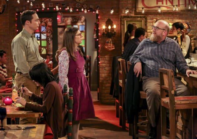 Sheldon and Amy See a Colleague - The Big Bang Theory Season 10 Episode 16