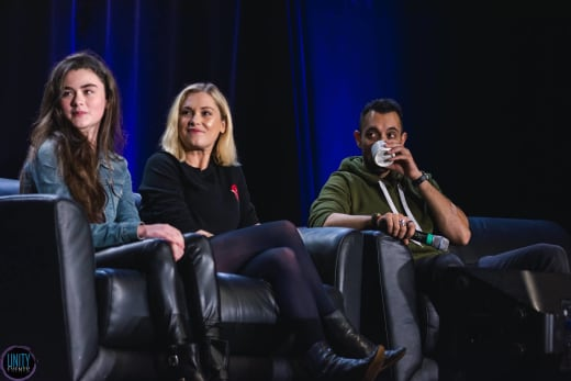 The 100 Cast at Unity Days 2019