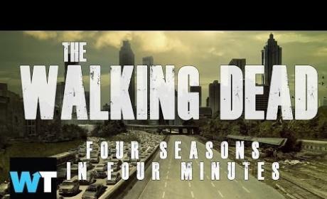 The Walking Dead: 4 Seasons in 4 Minutes