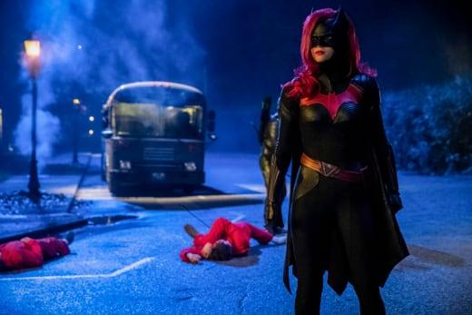Cool Shot - Arrow Season 7 Episode 9