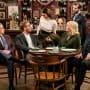 Murphy and Gang at Phil's - Murphy Brown Season 11 Episode 8