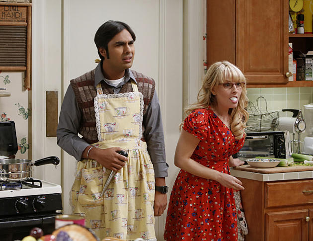 Thanksgiving on The Big Bang Theory