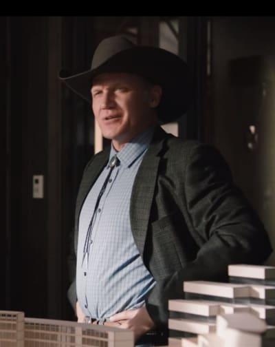 Terry Serpico as Teal Beck - Yellowstone Season 2 Episode 3