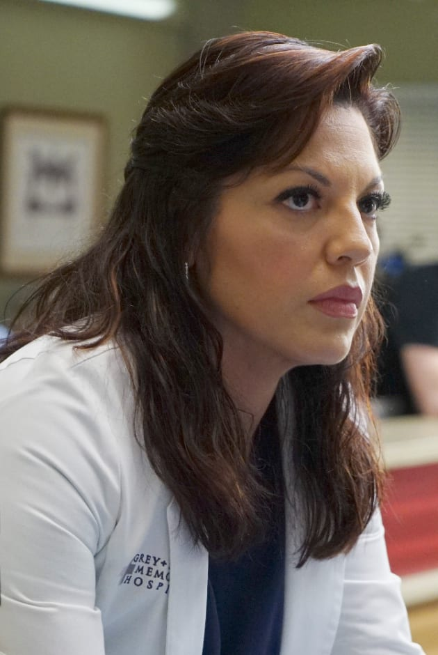 Callie is Serious - Grey's Anatomy Season 11 Episode 24