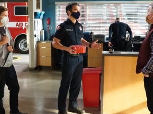 Paul visit - Station 19 Season 4 Episode 7
