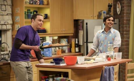 Raj and Sheldon Do Some Baking - The Big Bang Theory Season 10 Episode 22
