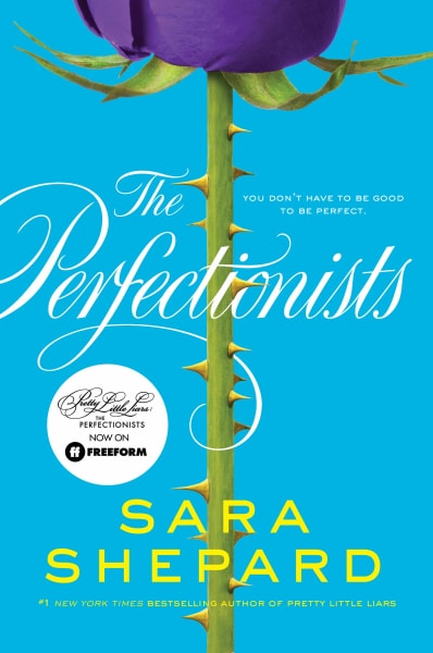 The Perfectionists Book Cover - PLL: The Perfectionists