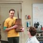 Sheldon Plans a Celebration - The Big Bang Theory