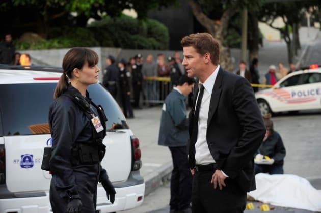 Bones Crime Scene Photo