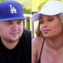 Rob Kardashian and Blac Chyna Image