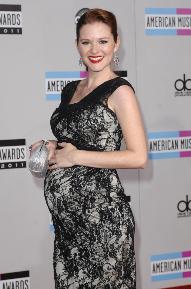 Sarah Drew Pregnant Pic