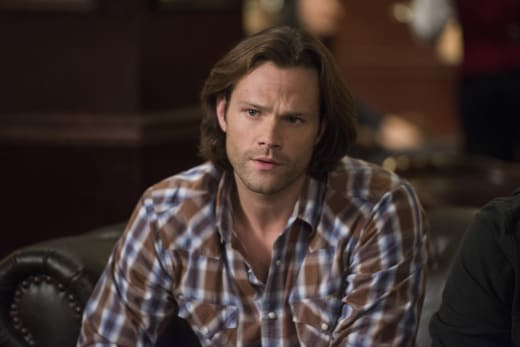 Sam's got a question - Supernatural Season 12 Episode 16