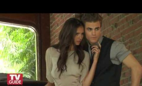 Vampire Diaries Photo Shoot