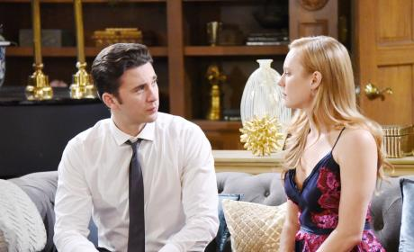 Chad Has a Difficult Conversation - Days of Our Lives