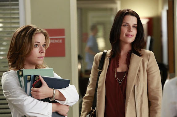 Neve Campbell on Grey's Anatomy