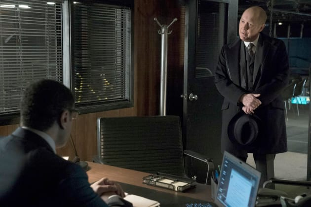 Red has a proposition - The Blacklist Season 4 Episode 14