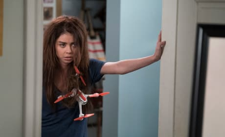 Hayley Faces the Drone - Modern Family Season 9 Episode 20