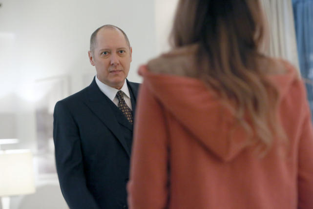 Red found his red hoodie - The Blacklist Season 4 Episode 10