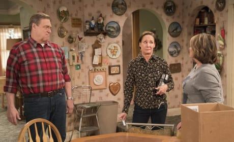 Roseanne, Dan, and Jackie - Roseanne Season 10 Episode 6