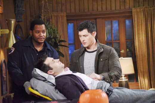 Paul Worries Over Sonny - Days of Our Lives