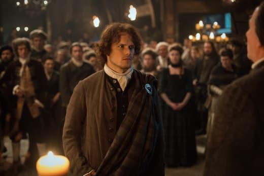Jamie Takes The Vow...Sort Of - Outlander Season 1 Episode 4